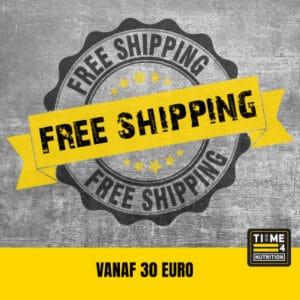 Gratis verzendkosten vanaf 30 euro